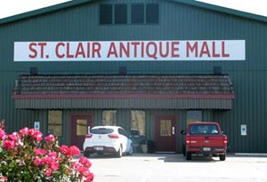 St. Clair Antique Mall Building exterior